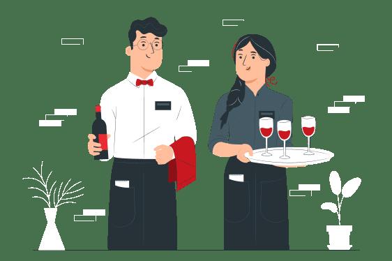 Waiters-pana 1